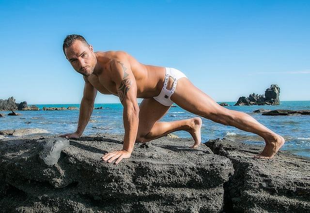 אימון על החוף ללא שיער